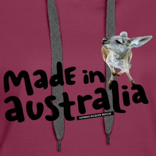Made in Australia - Women's Premium Hoodie