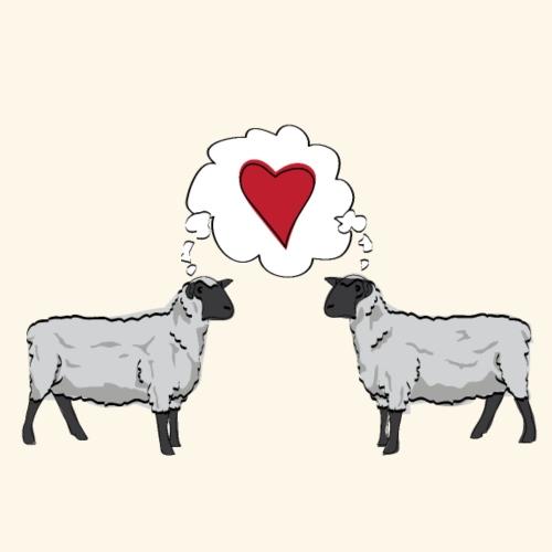 Ewes in Love - Women's Premium Hoodie