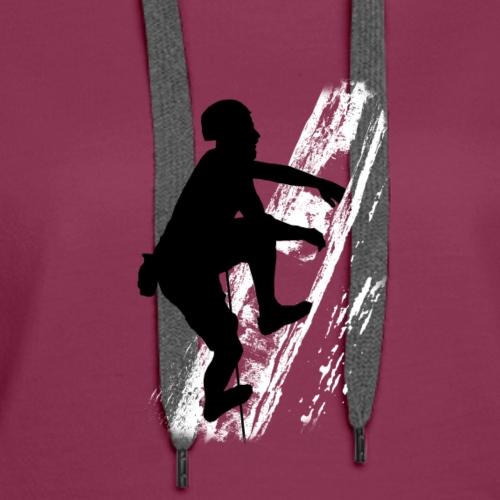 The Climber - Women's Premium Hoodie