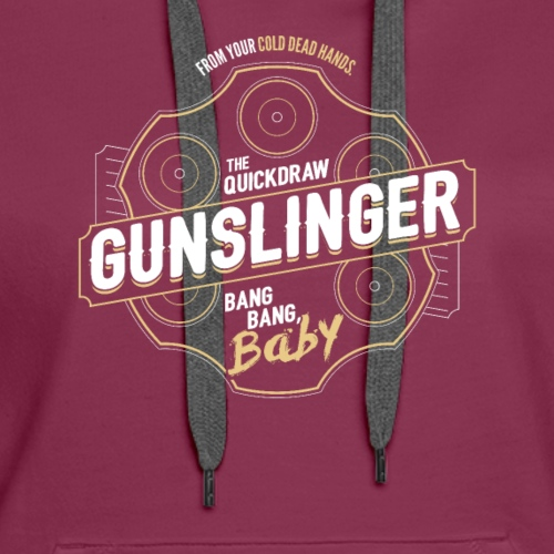 Gunslinger Class Fantasy RPG Gaming - Women's Premium Hoodie