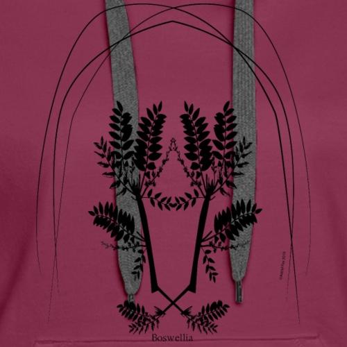 Boswellia Dark - Women's Premium Hoodie