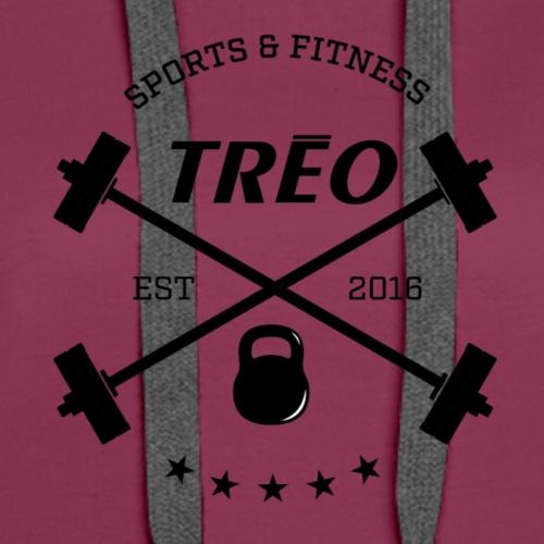 treo logo 01clearbackground - Women's Premium Hoodie