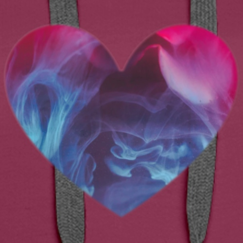 Heart Abstract Smoke - Women's Premium Hoodie