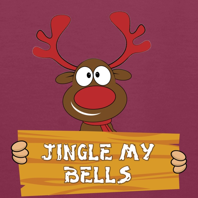 Red Christmas Horny Reindeer 1