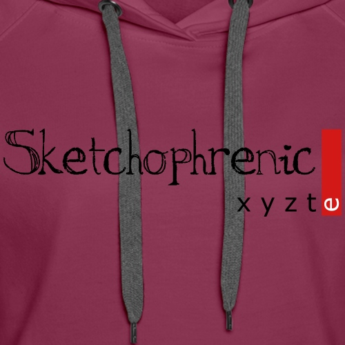 Sketchophrenic - Women's Premium Hoodie