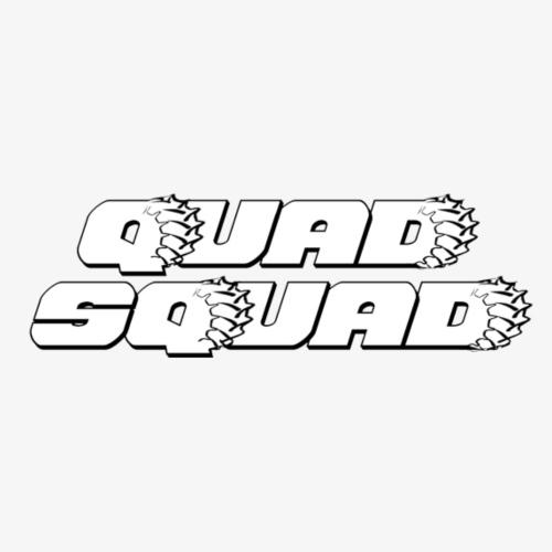 QuadSquad SM WHT - Women's Premium Hoodie