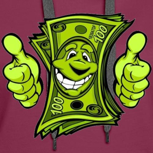 Hello Money - Women's Premium Hoodie