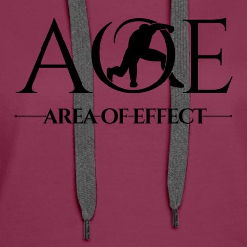AOE Logo - Women's Premium Hoodie