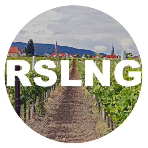 RSLNG - Riesling way in vineyard - Women's Premium Hoodie