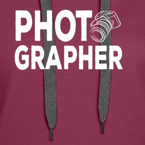 Photographer Tshirt - Wedding Photographer - Women's Premium Hoodie