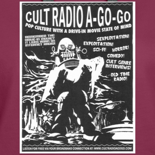 Cult Radio Robot Style - Women's Premium Hoodie