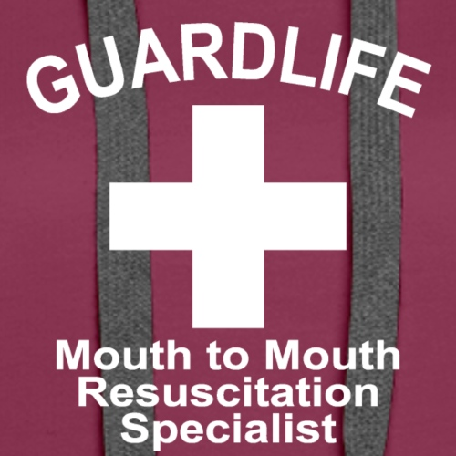 GuardLife, Mouth To Mouth Resuscitation Specialist - Women's Premium Hoodie