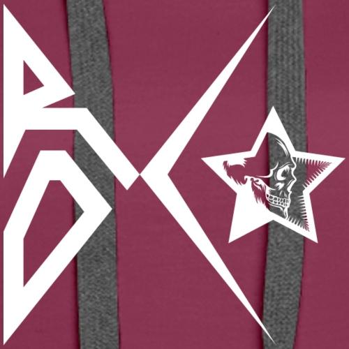 Rox Star 1 1 with Skullstar - Women's Premium Hoodie