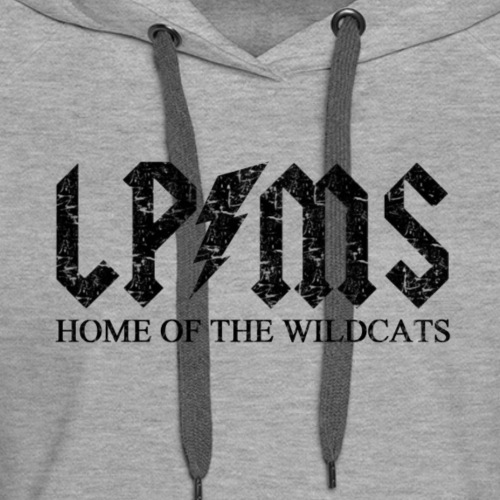 LPMS Voltage Distressed - Women's Premium Hoodie