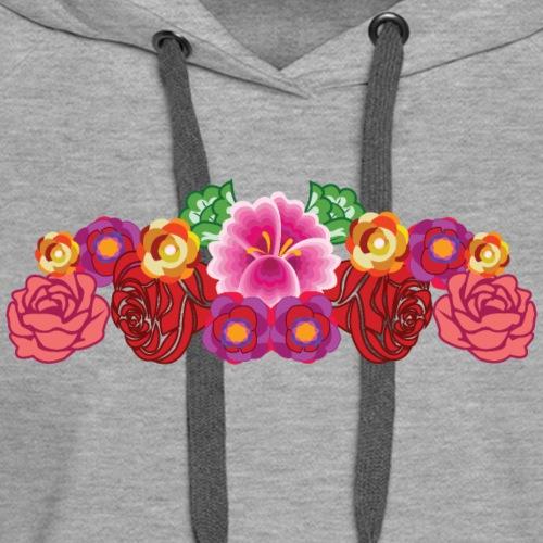 Garden of Flowers - Women's Premium Hoodie