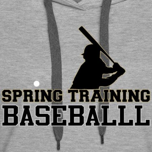 Spring Training - Women's Premium Hoodie