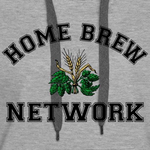 Home Brew Network Hops and Malt - Women's Premium Hoodie