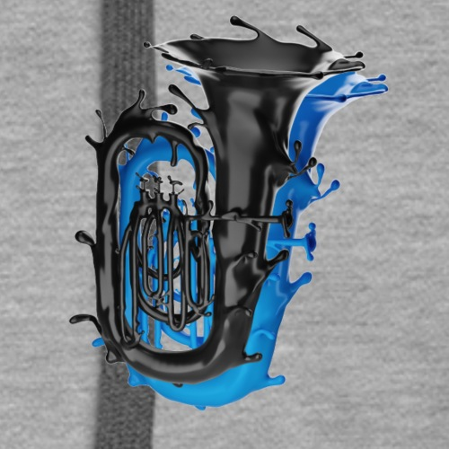 Tuba Splash Dual Colour - Women's Premium Hoodie