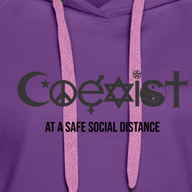 Coexist at a safe social distance