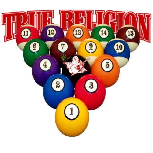 TRUE RELIGION BILLIARD INSPIRED - Women's Premium Hoodie