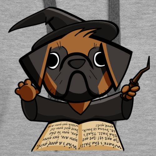 Pug Witch - Women's Premium Hoodie