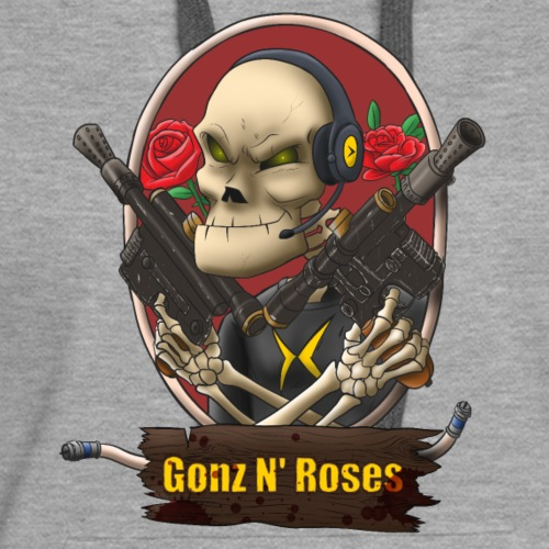 Gonz and Roses t shirt - Women's Premium Hoodie