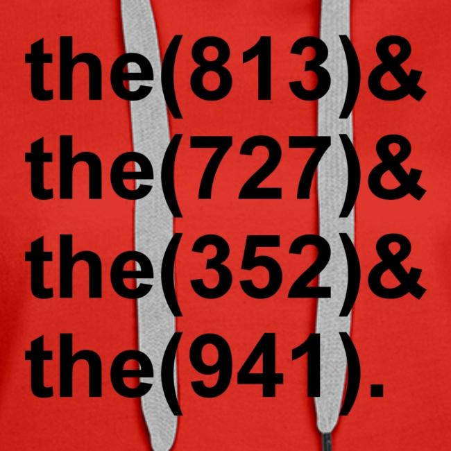 TB Area Codes Black