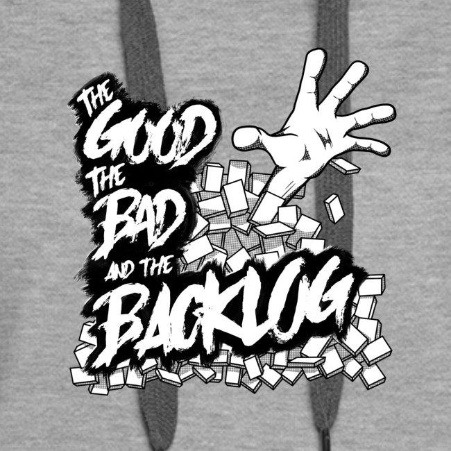 Good, Bad, Backlog - OG Logo white text