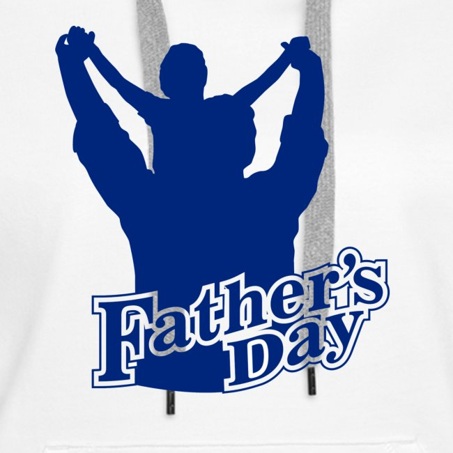 Fathers Day Child And Father Design