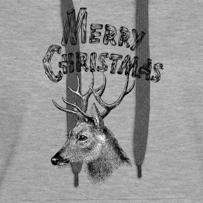 Merry Christmas Country deer Design