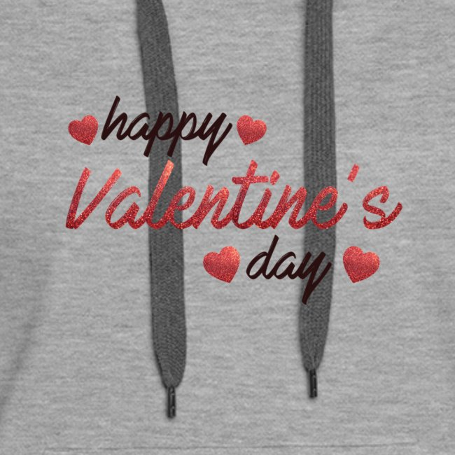 Happy Valentines day Tee With Hearts