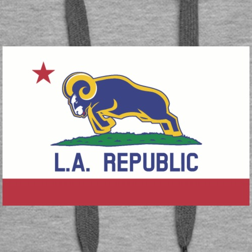 L.A. Republic (California Colors) - Women's Premium Hoodie