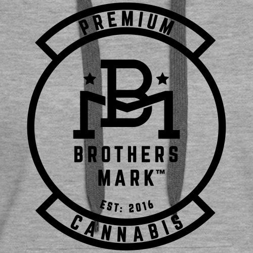 Veterans Cannabis Group and Brothers Mark - Women's Premium Hoodie