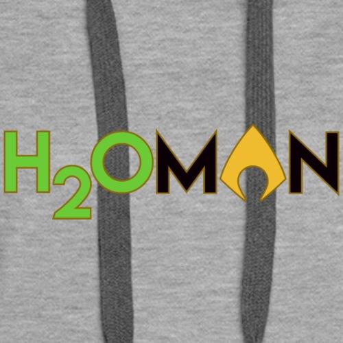H2Oman / Waterman / Aqua man Superhero - Women's Premium Hoodie