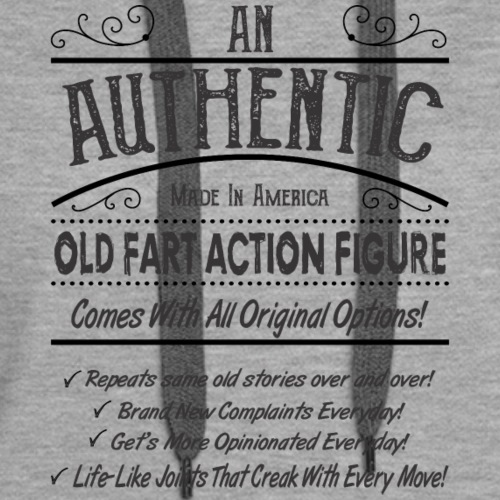 Old Fart Action Figure - Women's Premium Hoodie