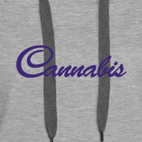 Cannabis - Fairy Tail - Cannabis - Shirt Design - Women's Premium Hoodie