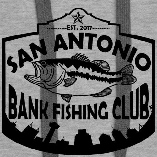 San Antonio Bank Fishing Club Black Logo - Women's Premium Hoodie