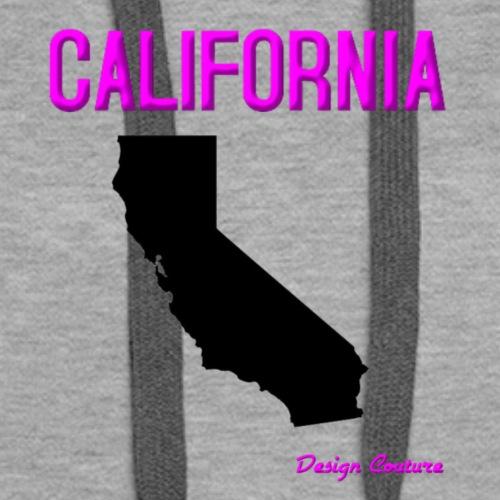 CALIFORNIA PINK - Women's Premium Hoodie