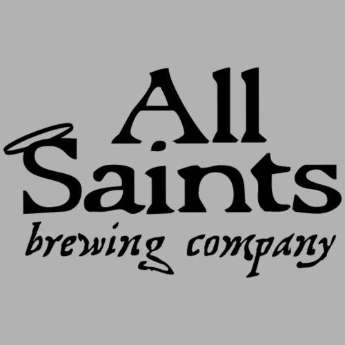 All Saints Logo Black - Women's Premium Hoodie
