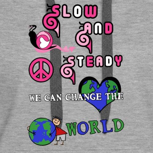 slow and steady - Women's Premium Hoodie