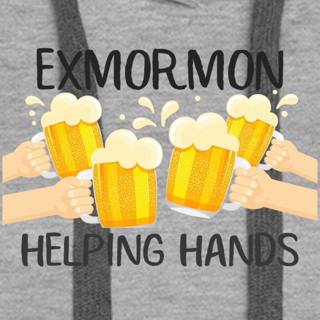 ExMormon Helping Hands beer cartoon