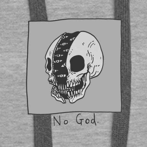 No God - Women's Premium Hoodie