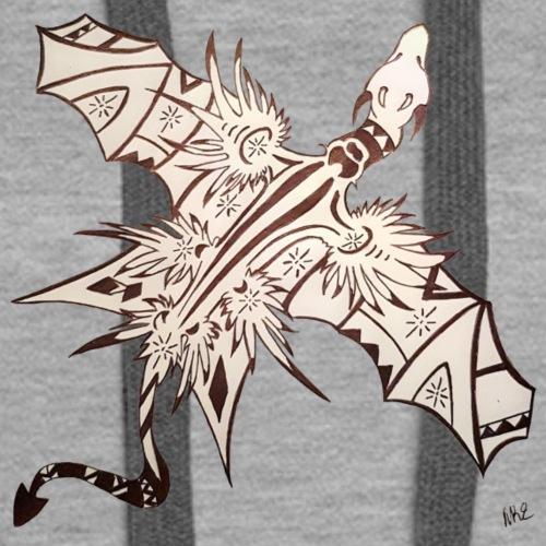 Art deco dragon - Women's Premium Hoodie