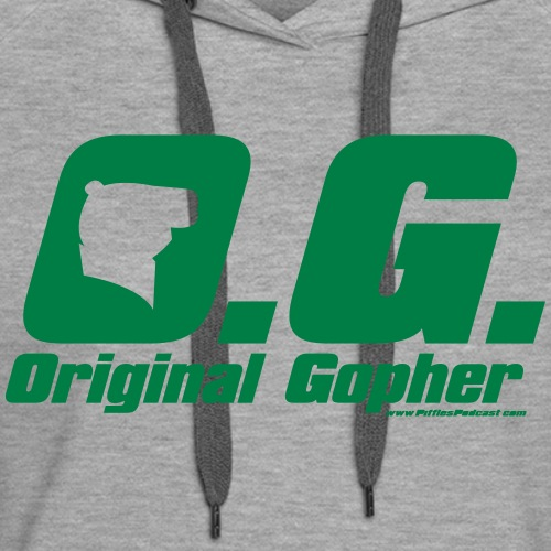 Original Gopher - Women's Premium Hoodie