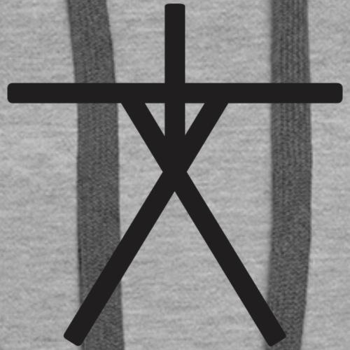 Blair Witch Symbol - Women's Premium Hoodie