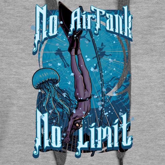 No Air Tank No Limit Freediving merchandise