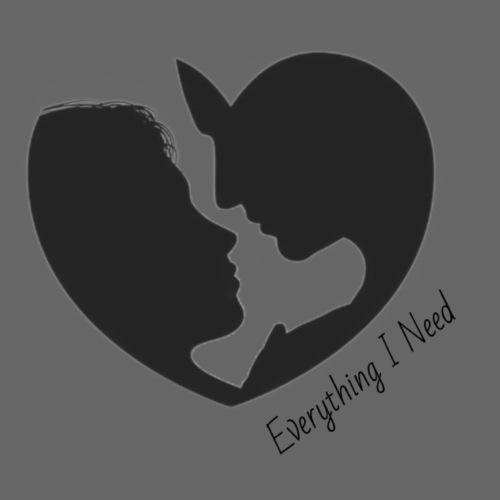 EVERYTHING I NEED DESIGN - Women's Premium Hoodie