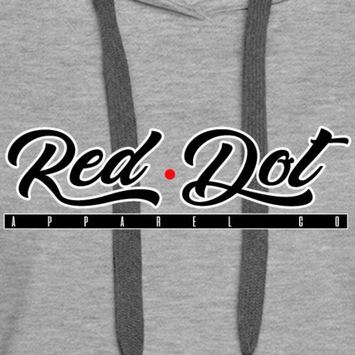 RED DOT APPAREL - Vape Hard - Women's Premium Hoodie