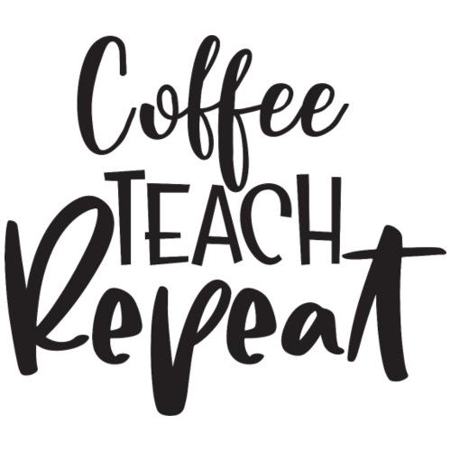 Coffee Teach Repeat - Women's Premium Hoodie