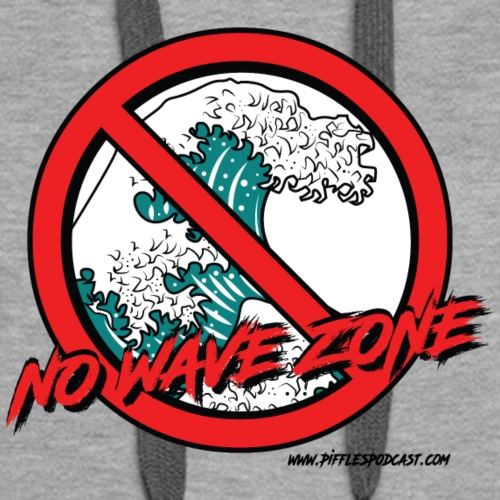 No Wave Zone - Women's Premium Hoodie
